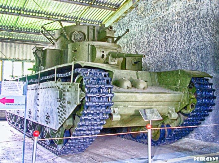 Soviet Multi-Turreted Heavy Tank T-35. Kubunka Tank Museum, Russia. Flickr/Andrey Korchagin. Creative CommonsAttribution-ShareAlike 2.0 Genericlicense.