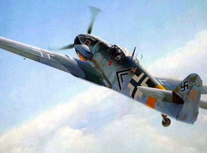 1944 Messerschmitt Bf 109 G Erich Hartmann JG52. Robert Sullivan.