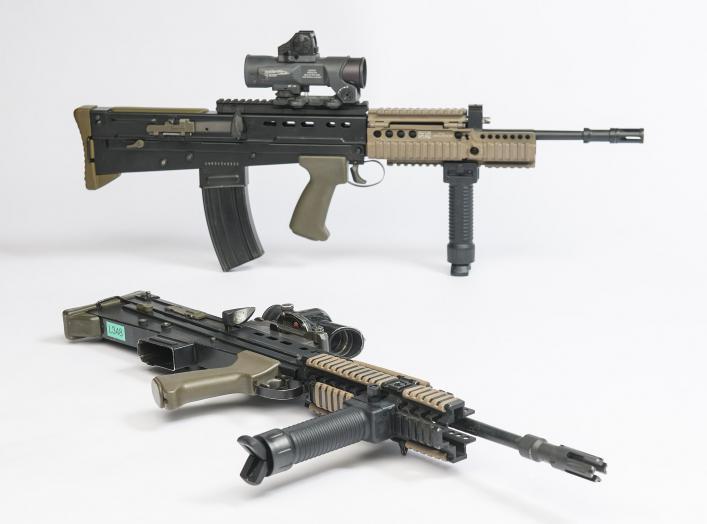 https://commons.wikimedia.org/wiki/File:SA80_A2_(L85A2)_5.56mm_Rifle_MOD_45162138.jpg