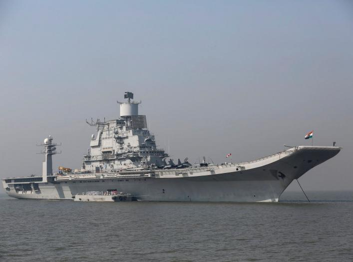 (INDIA - Tags: MILITARY MARITIME ANNIVERSARY)