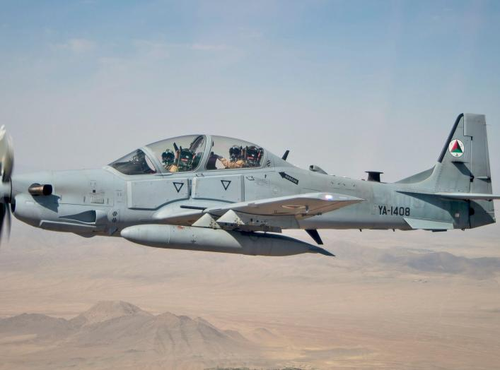 https://en.m.wikipedia.org/wiki/Embraer_EMB_314_Super_Tucano#/media/File%3AA-29_Over_Afghanistan.jpg