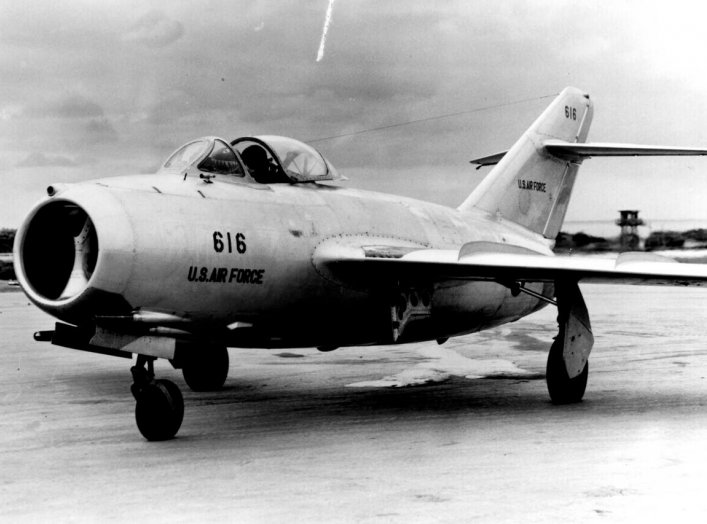 By Transferred from en.wikipedia to Commons.MiG-15 (original model) http://www.edwards.af.mil/gallery/yeager/docs_html/MiG-15.html, Public Domain, https://commons.wikimedia.org/w/index.php?curid=2088693