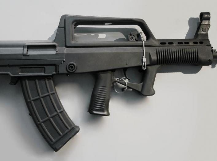 By User:Tyg728, modified by User:Hohum - File:QBZ95 automatic rifle 20170902.jpg, CC BY-SA 4.0, https://commons.wikimedia.org/w/index.php?curid=81876728