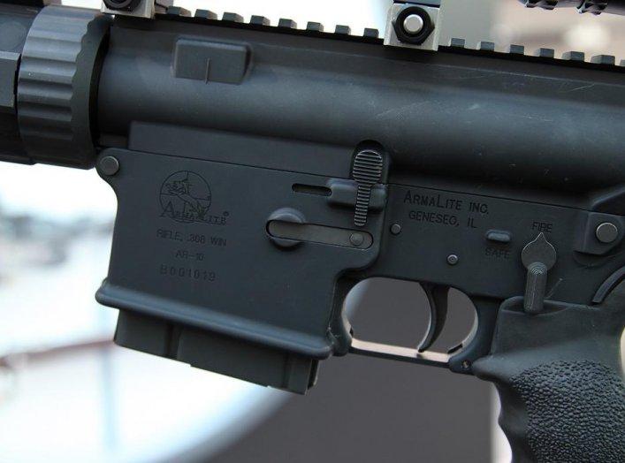 AR-10 National Match. Vitaly V. Kuzmin. Creative CommonsAttribution-Share Alike 4.0 Internationallicense.