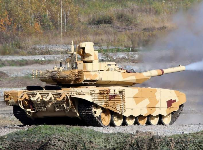 Does Russia's T-90 Tank Outclass America's 1m Abrams?