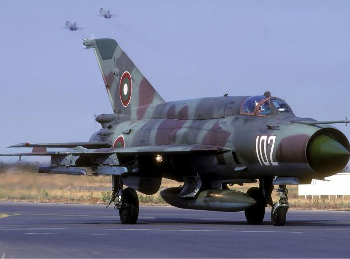 Bulgarian Air Force Mikoyan-Gurevich MiG-21bis SAU