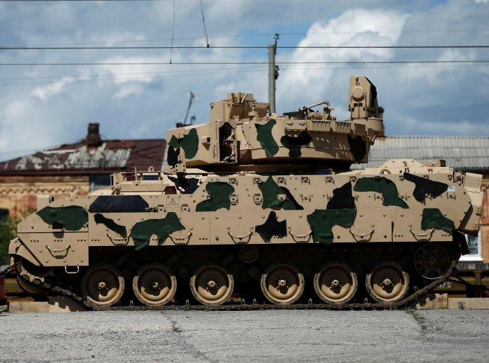 Jane's Information Group, an open source intelligence company, reported that Northrop Grumman delivered several prototype guns to the U.S. Army for their Bradley replacement vehicle—and what they delivered looks like a beast.   Previous photos released by