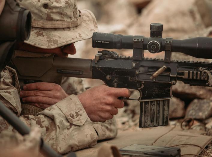 (U.S. Marine Corps Photograph by Pfc. Cedar Barnes)