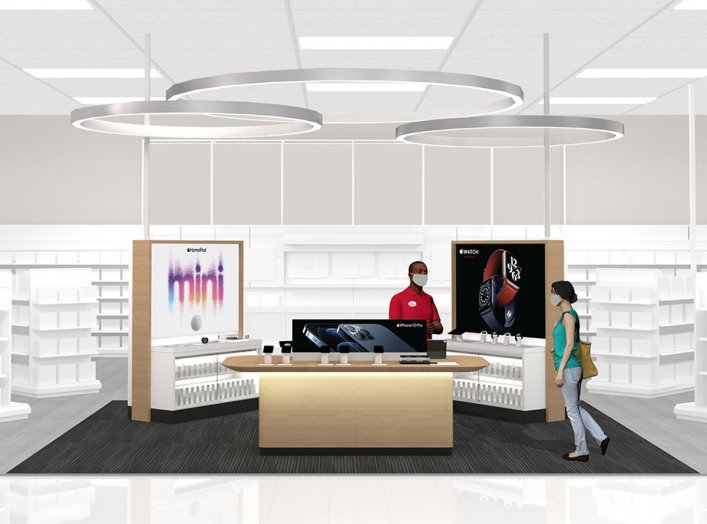 Image: Target and Apple