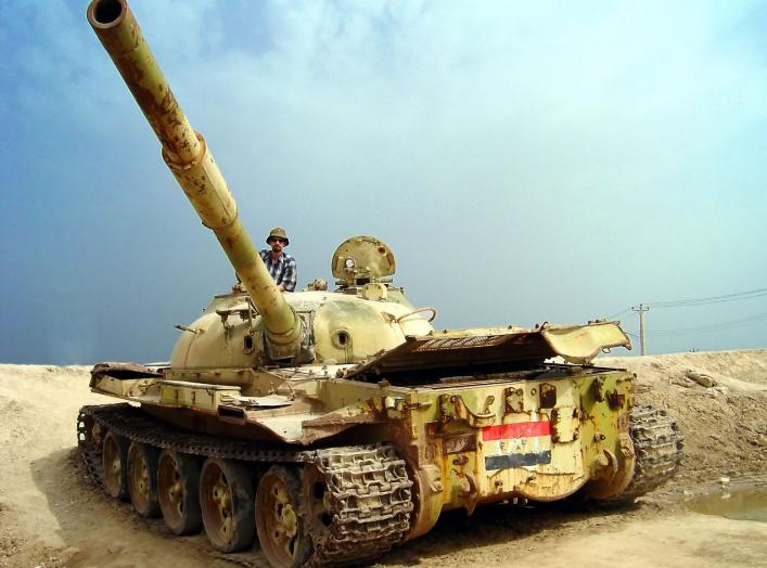 By Hamed Saber - originally posted to Flickr as Me, Iraqi war tank, CC BY 2.0, https://commons.wikimedia.org/w/index.php?curid=6077861