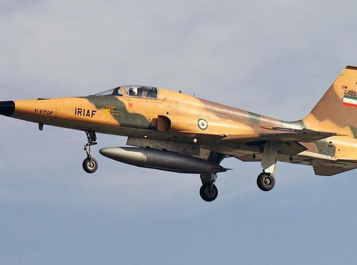 IRIAF Northrop F-5E Tiger II. 8 August 2010. Khashayar Talebzadeh.