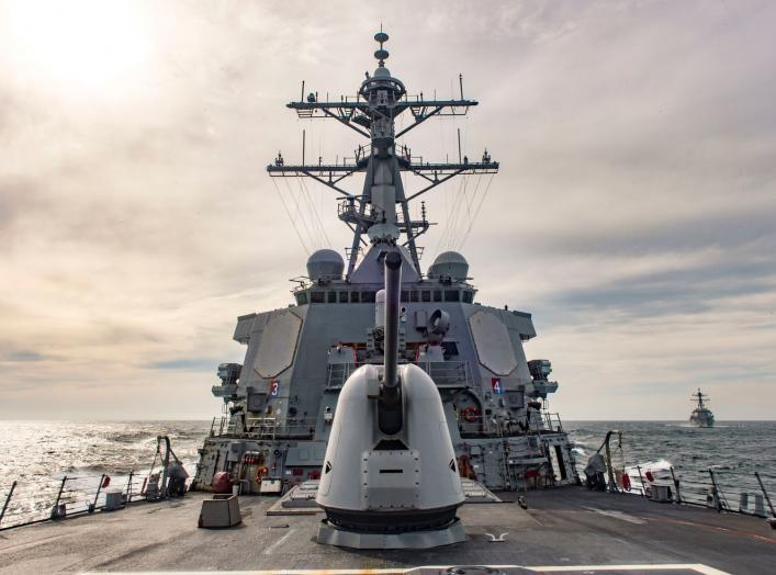(U.S. Navy photo by Mass Communication Specialist 2nd Class Edward Guttierrez III/Released)