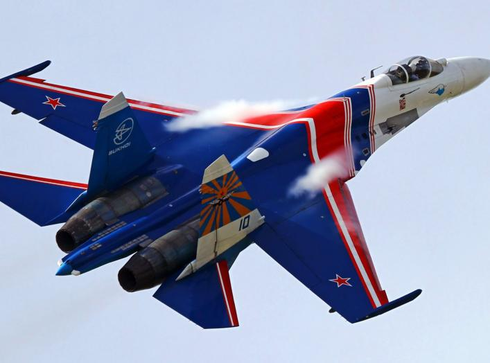 By Alexander Mishin - http://www.airliners.net/photo/Russia---Air/Sukhoi-Su-27-(Su-27S)/1875573/L/, CC BY-SA 3.0, https://commons.wikimedia.org/w/index.php?curid=17359577