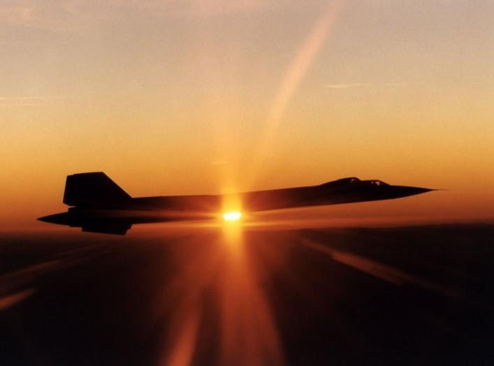 https://www.dvidshub.net/image/736949/sr-71b-mach-3-trainer-flight-sunset