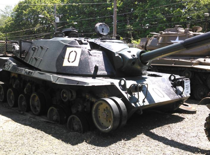 MBT-70 at the Military Museum of Southern New England in Danbury, Connecticut. 21 June 2016.