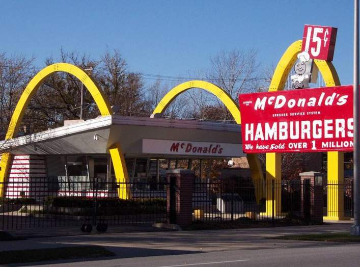 McDonalds museum (Ray Kroc's first ( April 1955) franchised restaurant in the chain, similar in style to the McDonald brothers 1953 franchised restaurants in Phoenix, Arizona and Downey, California ), Des Plaines, Illinois, USA.