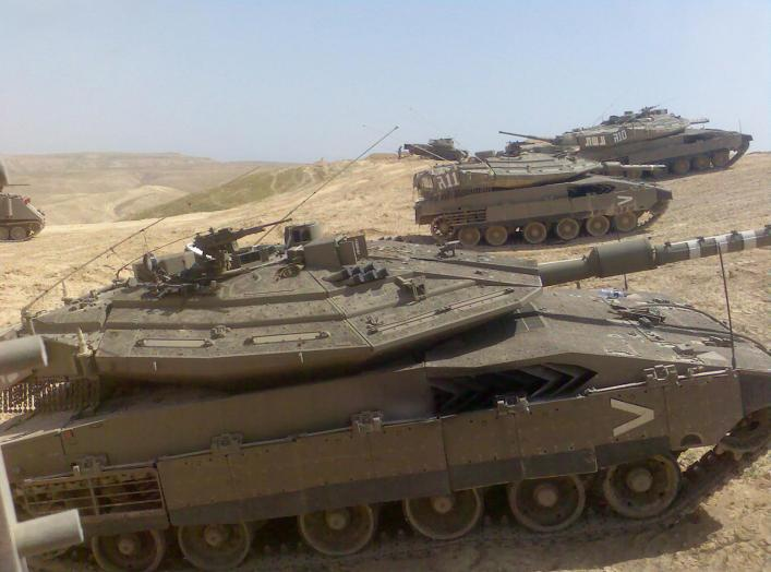 Merkava tank Mk IV