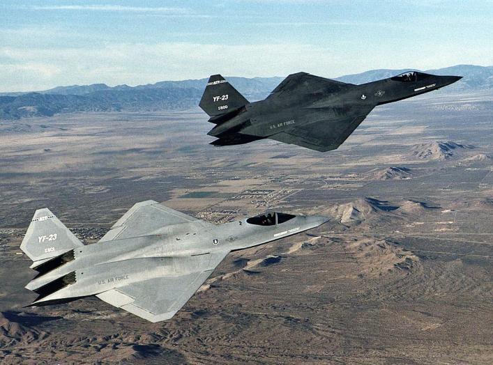 https://en.wikipedia.org/wiki/Northrop_YF-23#/media/File:Northrop_YF-23_DFRC.jpg