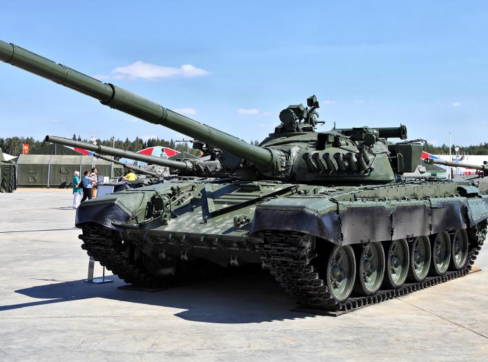 T-72A. Wikimedia Commons