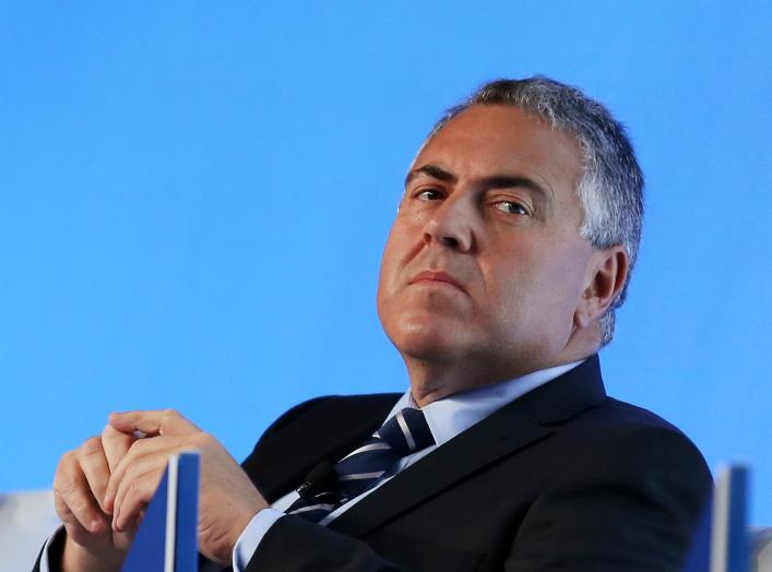 Joe Hockey looks on at the B20 Australia Summit in Sydney July 18, 2014. REUTERS/Nikki Short/Pool