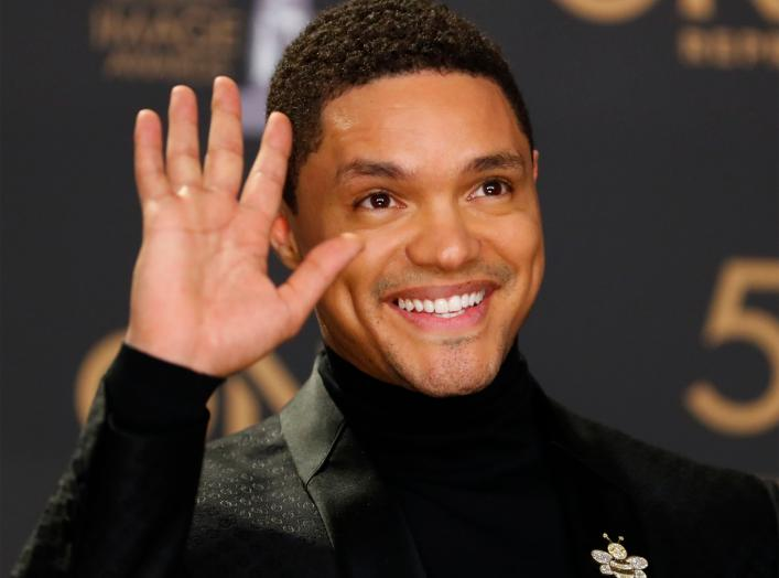 50th NAACP Image Awards – Photo Room – Los Angeles, California, U.S., March 30, 2019 – Trevor Noah poses backstage. REUTERS/Mike Blake