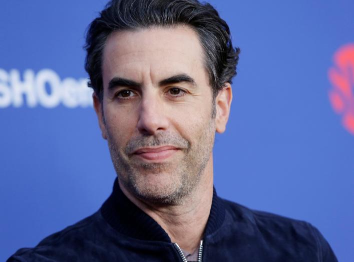 """Sacha Baron Cohen arrives at the premiere of red carpet event for the screening for the Showtime Series """"Who Is America"""", moderated by Sarah Silverman in Los Angeles, California, U.S., May 15, 2019. REUTERS/Monica Almeida"""