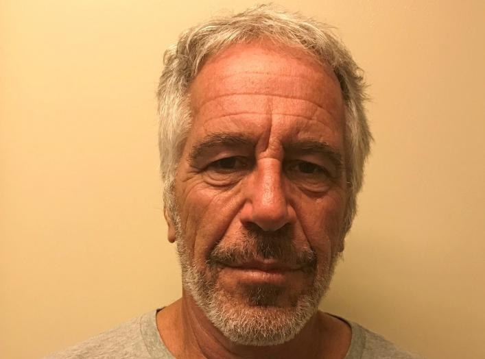 U.S. financier Jeffrey Epstein appears in a photograph taken for the New York State Division of Criminal Justice Services' sex offender registry March 28, 2017 and obtained by Reuters July 10, 2019. New York State Division of Criminal Justice Services