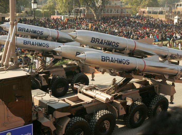 """India is planning to test its Brahmos missiles later this month, according to a senior executive. Next week Delhi will conduct a test to """"validate service life extension"""" of the missile, according to Sudhir Kumar Mishra, the head of BrahMos Aerospace, the"""