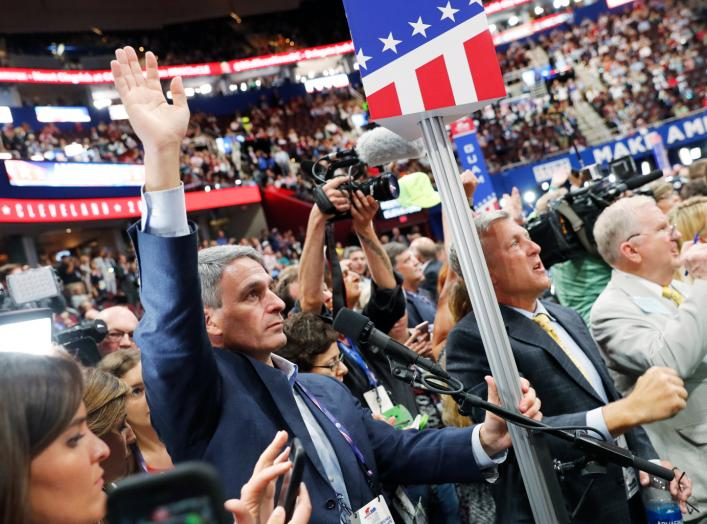 Cleveland, Ohio, U.S. July 18, 2016. REUTERS/Jonathan Ernst