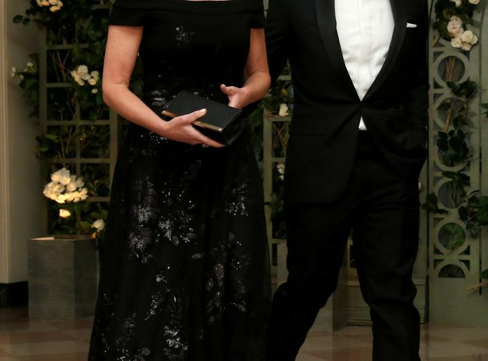 FILE PHOTO: U.S. Secretary of Homeland Security Kirstjen Nielsen and Chad Wolf arrive for the State Dinner in honor of French President Emmanuel Macron at the White House in Washington, U.S., April 24, 2018. REUTERS/Joshua Roberts/File Photo