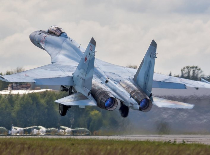 Sukhoi Su-35S. 19 July 2016. Wikimedia/Dmitry Terekhov from Odintsovo, Russian Federation. Creative Commons Attribution-Share Alike 2.0 Generic.