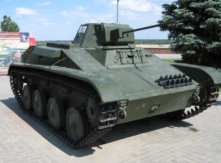 T-60 in the Volgograd Panorama Museum. 12 June 2015. Wikimedia/Leha-11. Creative Commons Attribution-Share Alike 4.0 International license.