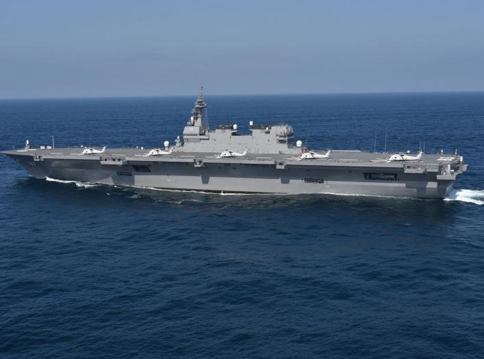 By Kaijō Jieitai (海上自衛隊 / Japan Maritime Self-Defense Force) - http://www.mod.go.jp/msdf/formal/gallery/ships/dd/izumo/183.html, CC BY 4.0, https://commons.wikimedia.org/w/index.php?curid=59350395