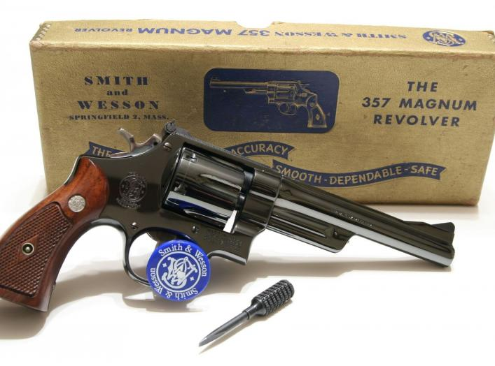 By Stephen Z - S&W Pre 27 Six Inch, CC BY-SA 2.0, https://commons.wikimedia.org/w/index.php?curid=10210827