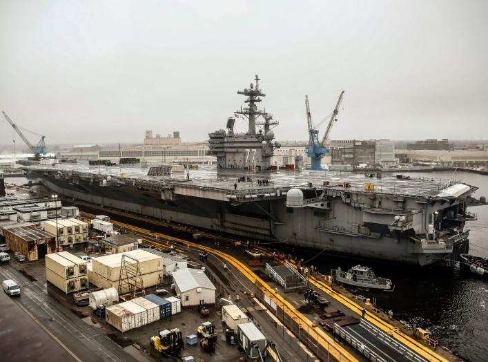 https://www.dvidshub.net/image/5123146/nnsy-welcomes-uss-george-hw-bush-dry-docking-planned-incremental-availability