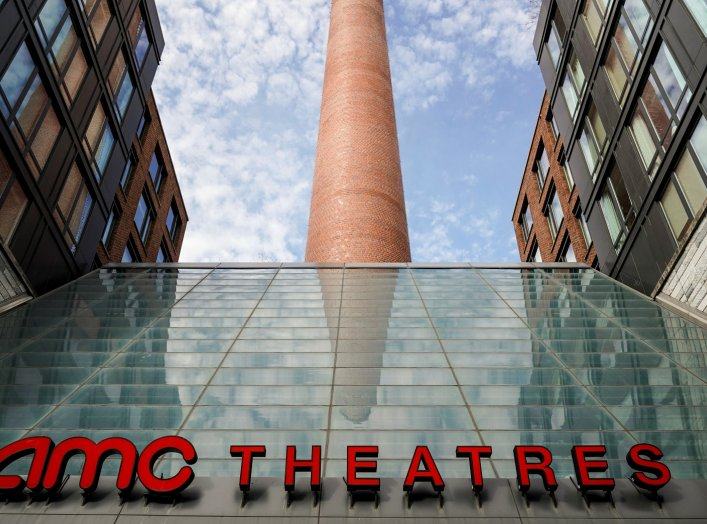 The AMC Theatres in the Georgetown neighborhood is closed due to a global outbreak of coronavirus disease (COVID-19), in Washington