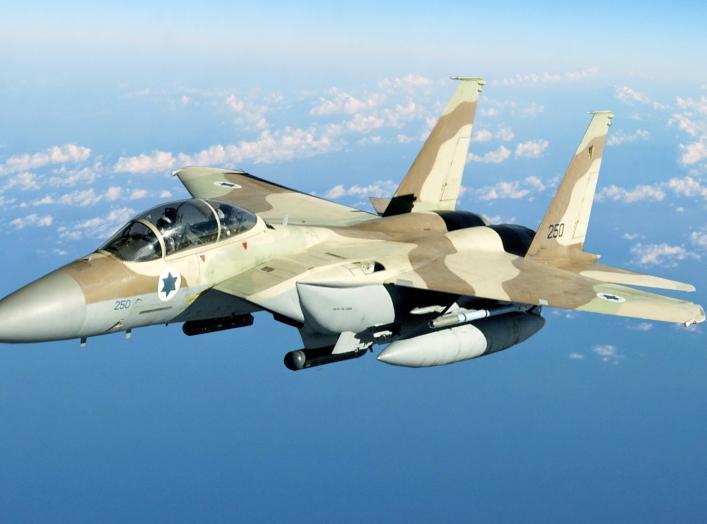 Israeli Defense Force-Air Force F-15I Ra'am aircraft.