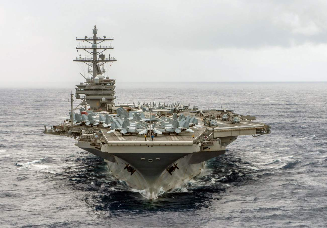 The U.S. Navy in 2005 Tried to Sink Its Own Aircraft Carrier (And Failed)