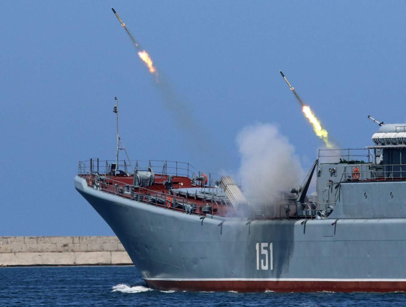 Russia's Navy Has a Deadly New Mach-8 Hypersonic Anti-Ship Missile