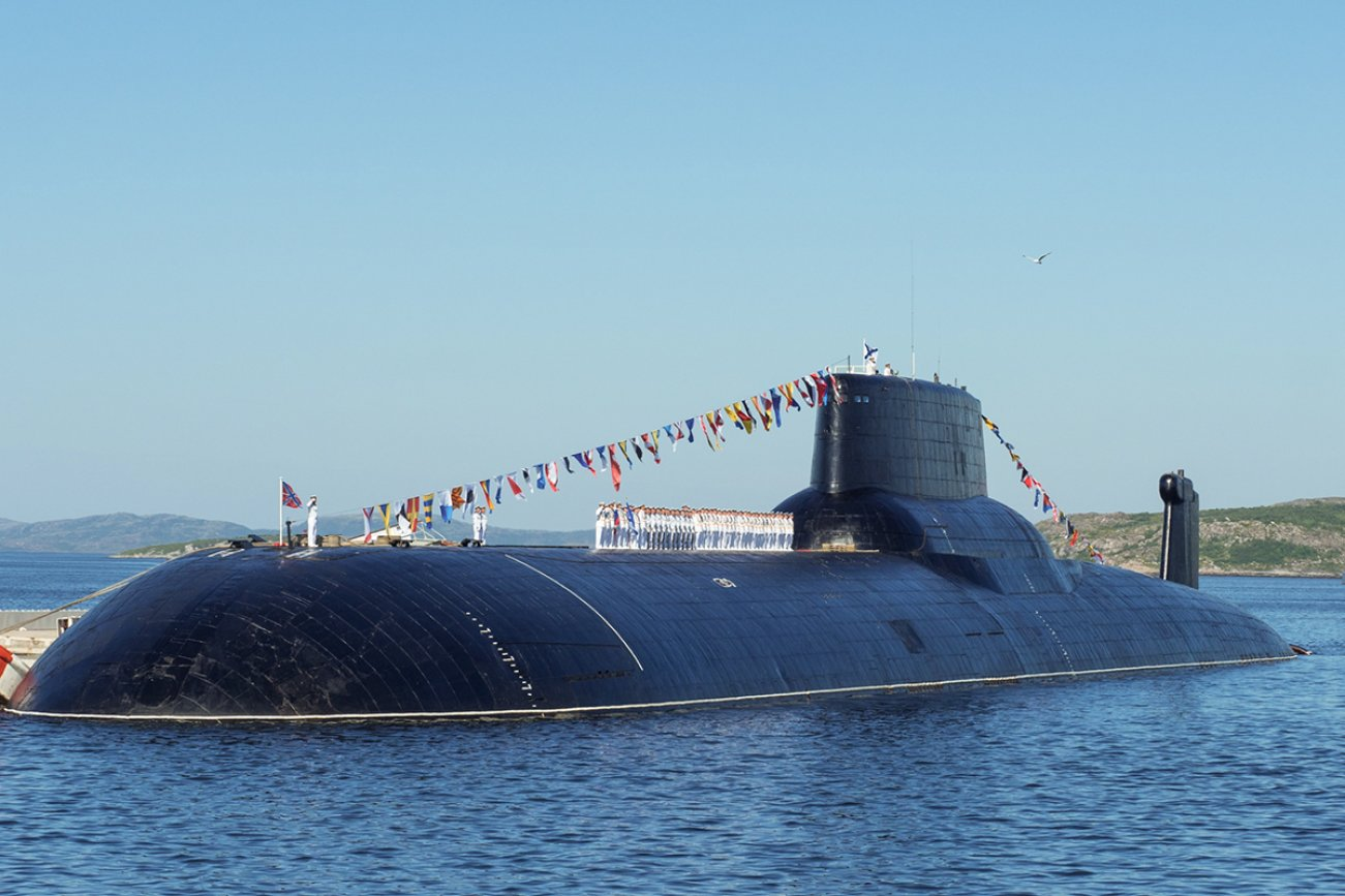 Russia's Sole Remaining Monster Typhoon-Class Submarine Is Back