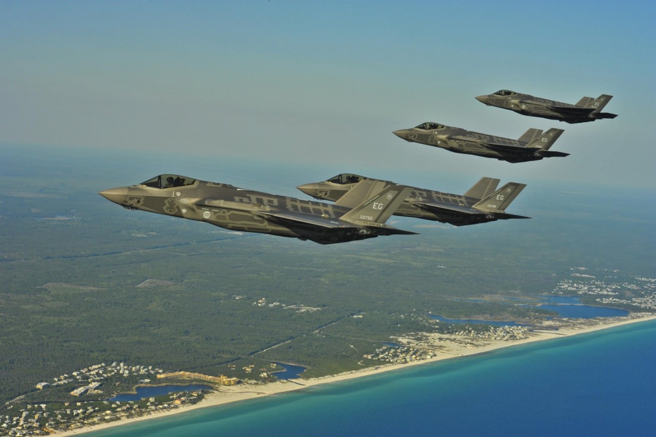U.S. F-35s Are Already Getting Experience Against Hostile Missile Defenses