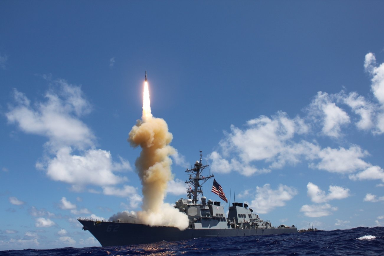 Move Over, Tomahawk. The U.S. Navy's New SM-6 Is In Town.