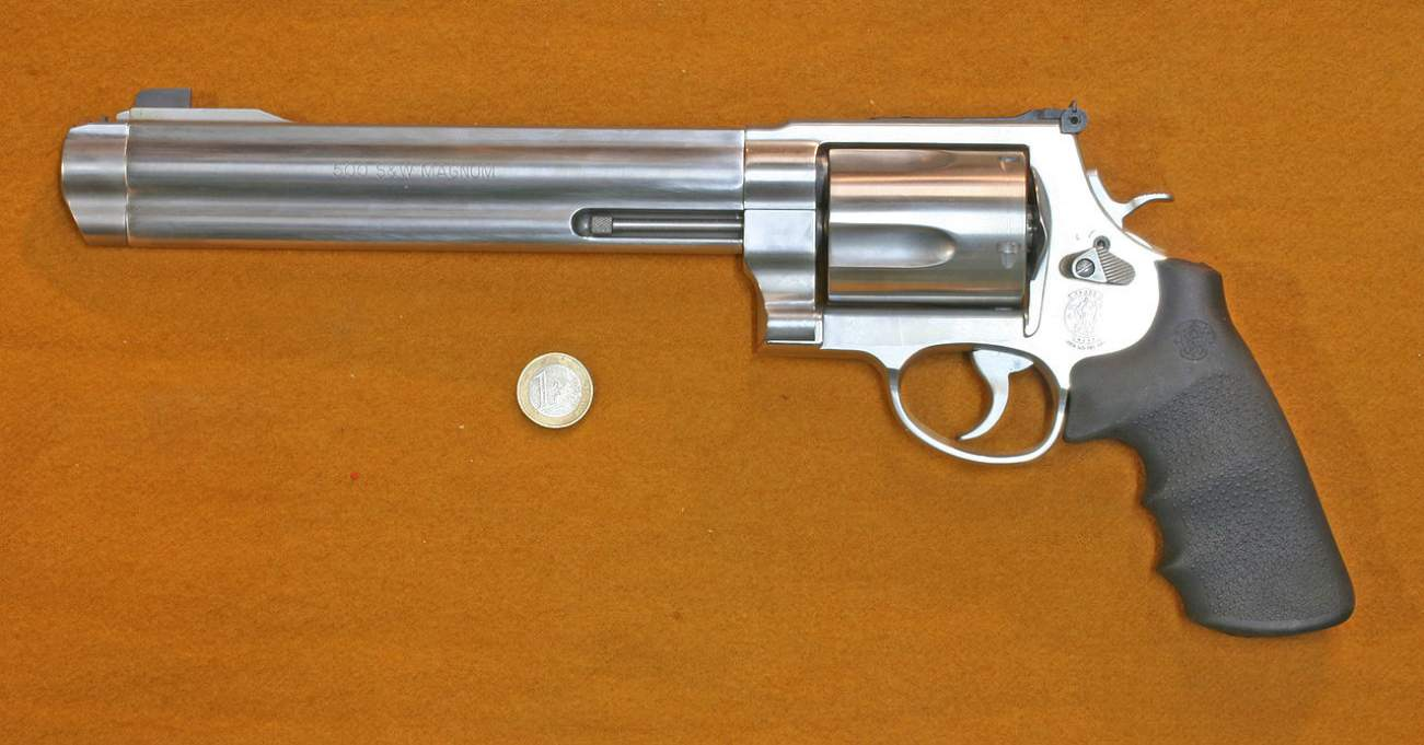 Smith & Wesson's 500 .50 Caliber Gun Is So Mean That Ranges Don't Allow It