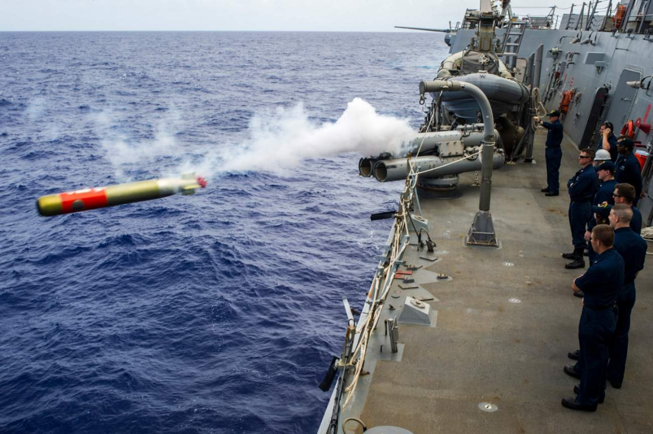 FIRE!: The Navy's New Torpedo Will Make American Submarines Even Deadlier