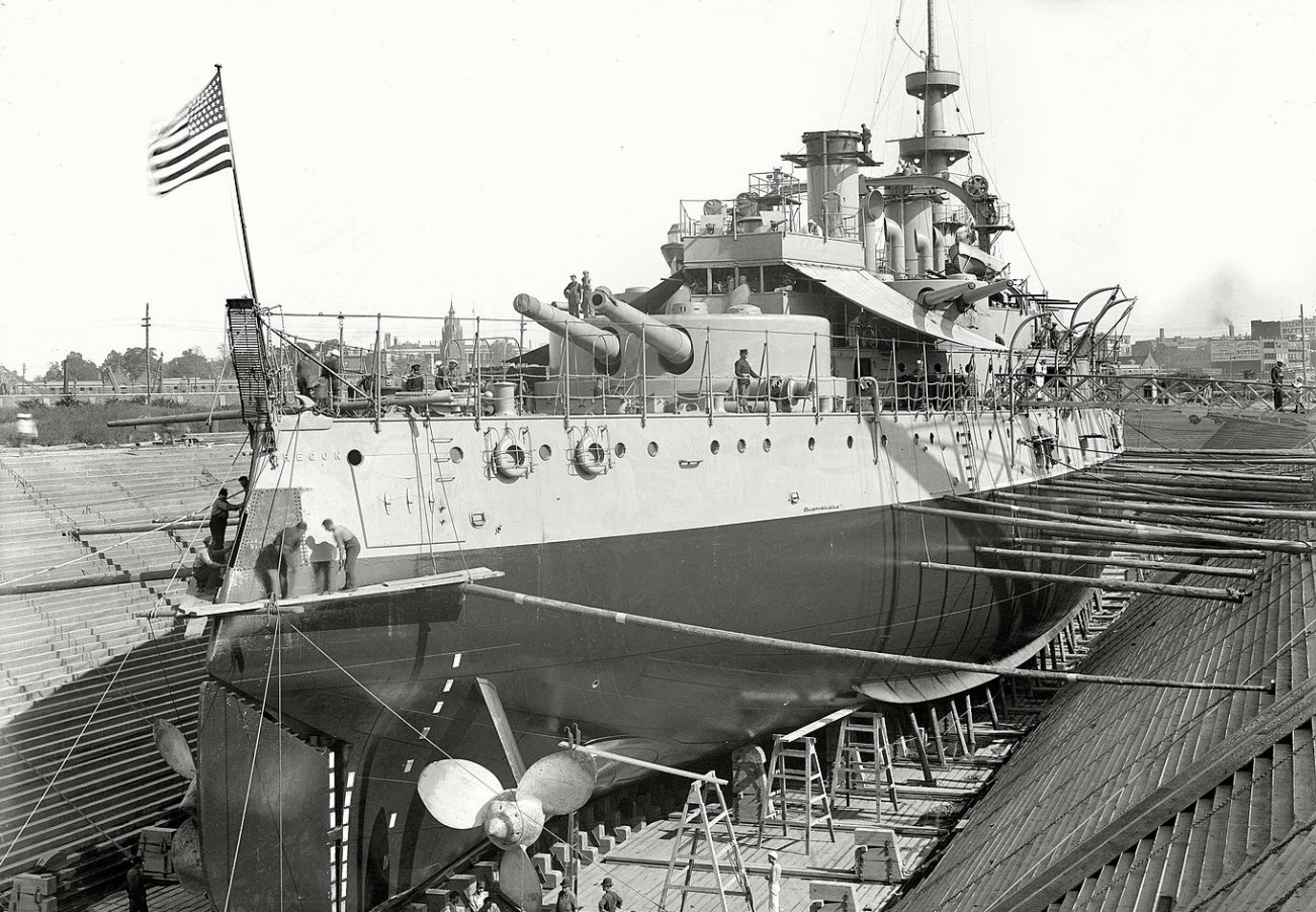 This Was the U.S. Navy's Very First Battleship