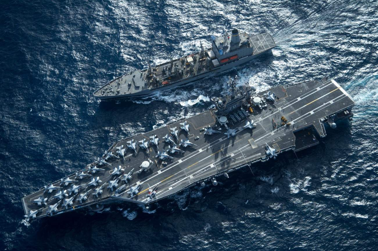 Back in 2015, Iran Practiced Sinking a U.S. Navy Aircraft Carrier