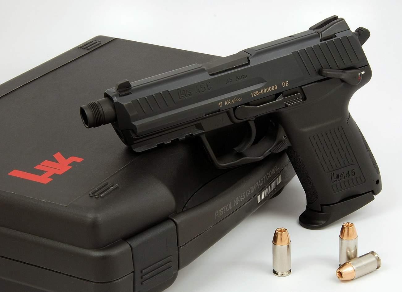 .45 Caliber Handguns: The 5 Best of the Best