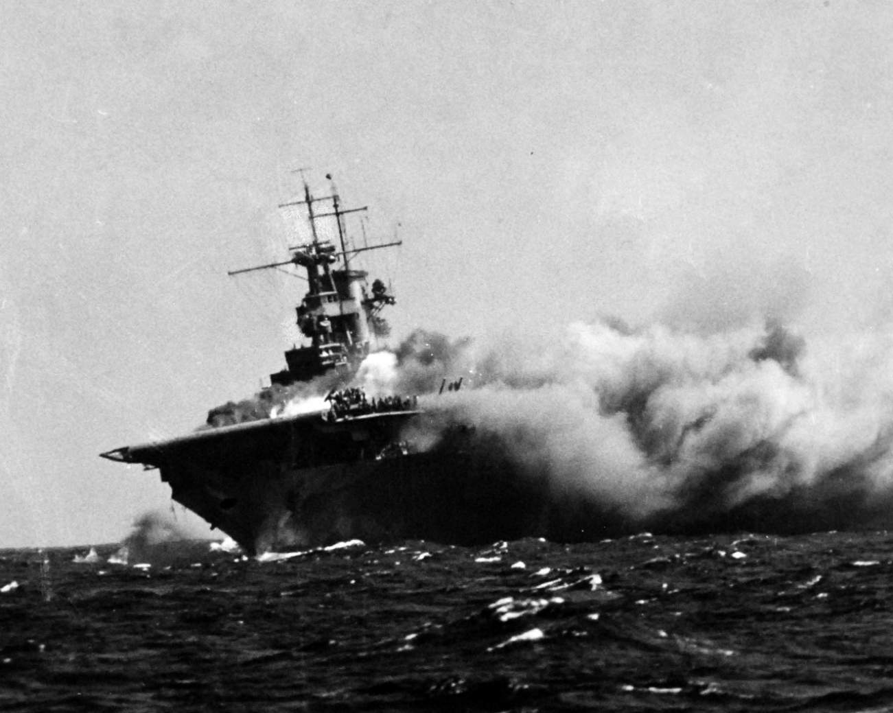 Disaster! The USS Wasp Was America's Weakest Aircraft Carrier During World War II