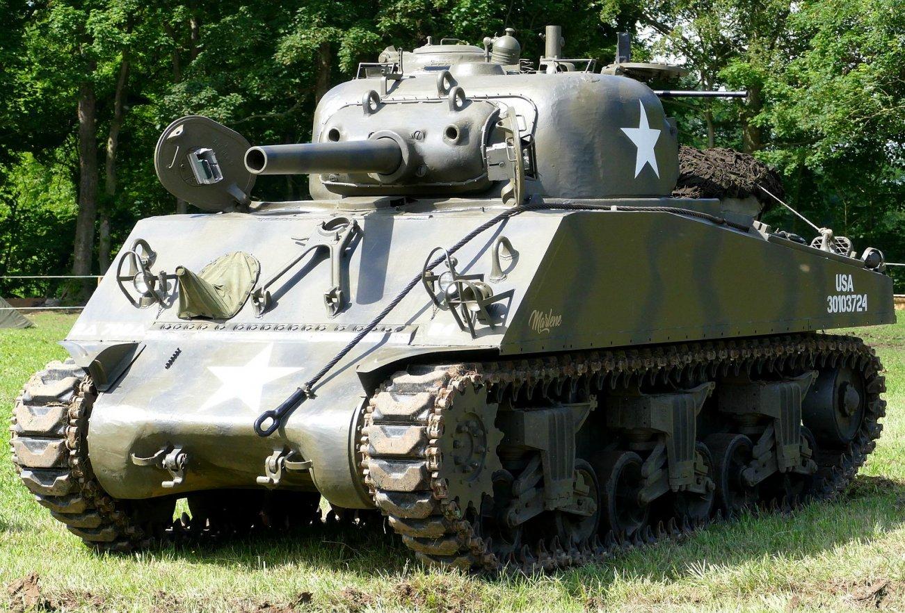 How Did America's Sherman Tank Win against Superior German Tanks in World War II?