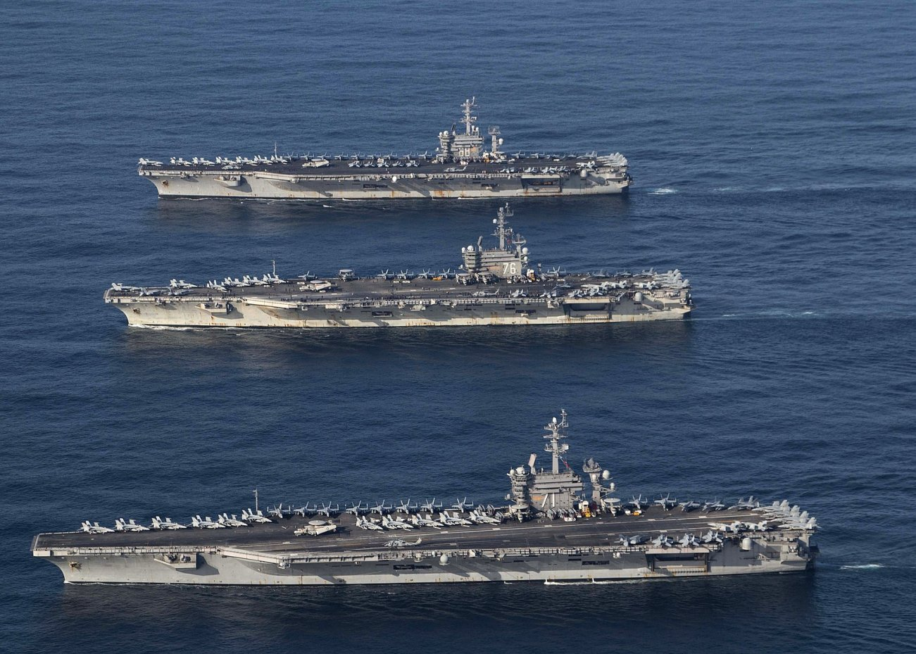 How to Stop a U.S. Navy Aircraft Carrier: Take Out the Toilets